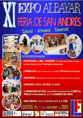 XI EDICIÓN EXPO ALBAYAR. Feria de San Andrés.