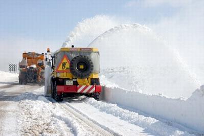 El temporal de nieve en la provincia de Teruel