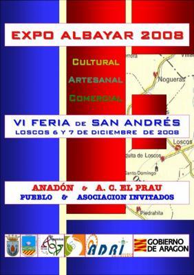 EXPOALBAYAR 2008 en Loscos. 6 y 7 de Diciembre de 2008