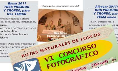 TRES CONCURSOS FOTOGRAFICOS