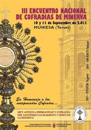 Muniesa acoge el III encuentro nacional de cofradías de Santísimo Sacramento y Minerva
